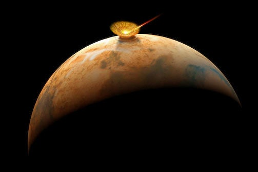 NASA: Martian Meteorite Could Have Contained Ancient Water And Life