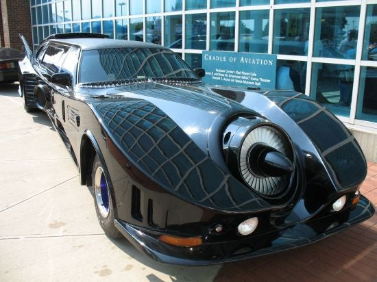Batmobile Limo: For When Bruce Wayne Just Gives Up