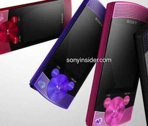Updated Sony S-Series Walkman Spy Shot Show Off Front Speakers