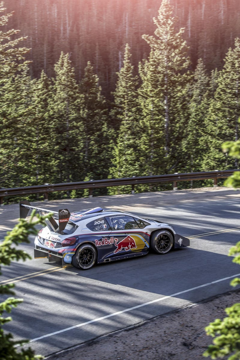 Sebastien Loeb Is Ready To Conquer Pikes Peak With Peugeot