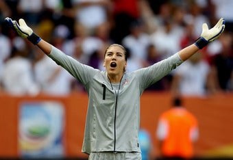 "Hope Solo: ""We'll Be Bringing Home The Cup"""