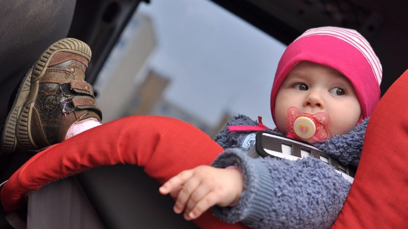 Father Of The Year Leaves His Baby In A Freezing Car For Eight Hours