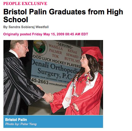 Bristol Palin: Successfully Educated