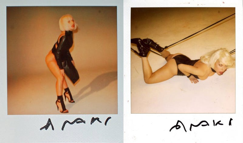Naked Lady Gaga Bondage Polaroids Are Vaguely Shocking