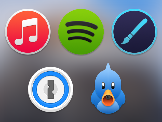 20 Beautiful Yosemite App and Icon Concept Designs
