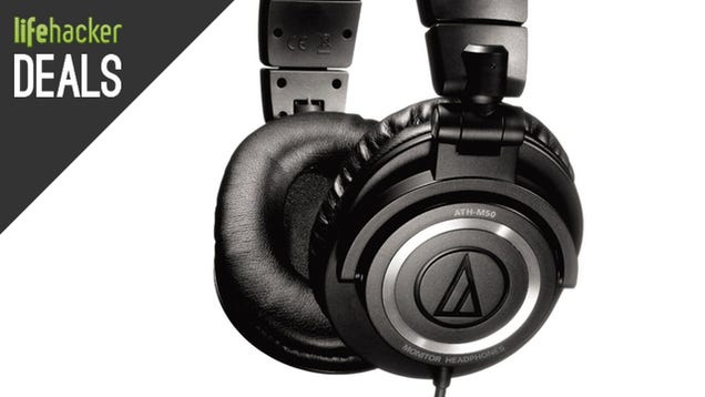ATH-M50 Headphones For $88, Grea