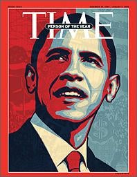 Time Robotically Names Obama Person of the Year