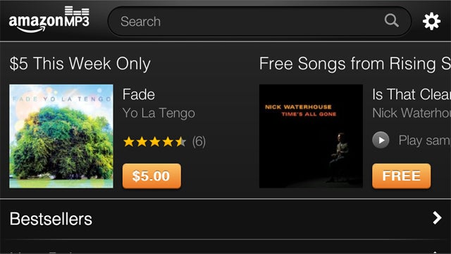 Amazon MP3 Optimized for iOS So You Can Buy MP3s On-the-Go