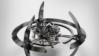 A Fascinating Timepiece, Engineered to Look Like Deep Space Nine