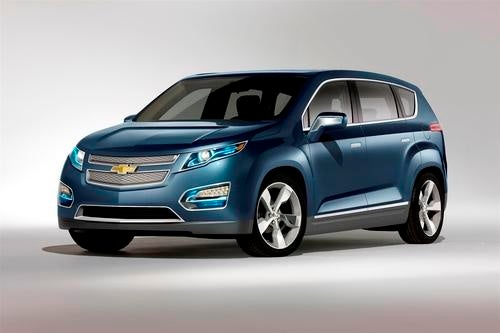 Chevy Volt MPV5 Electric Concept: A Five-Seat Orlan-Volt