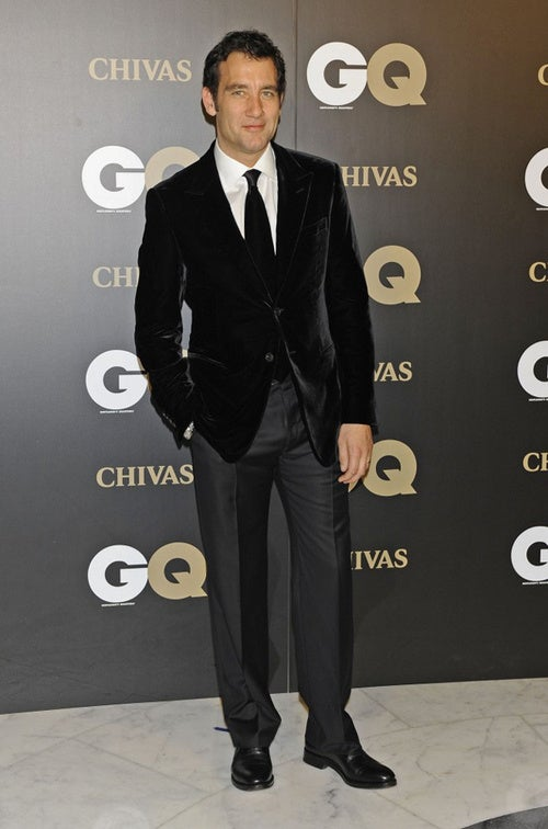 Christmas Has Come Early: Clive Owen In A Velvet Jacket