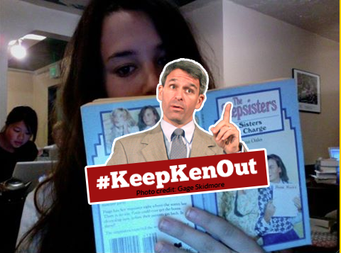 Don't Let Wannabe Governor Ken Cuccinelli Photobomb Your Uterus
