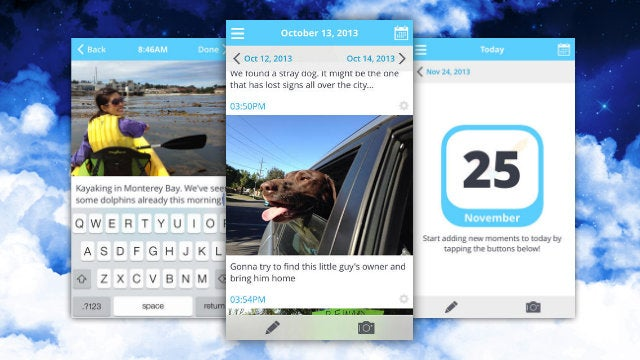 Bokeh Organizes Photos and Journals Together with a Simple Calendar