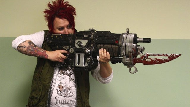 Want a Massive Bloody-Bladed Firearm With Your Copy of Gears of War 3?
