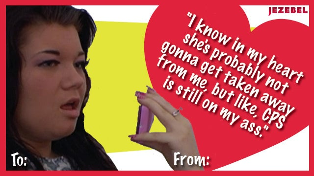 Valentines for the Trashy TV Fan in Your Life