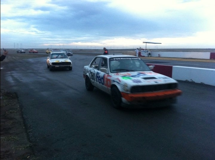 Bill Caswell Wins Buttonwillow Arse Freeze-a-Palooza LeMons Race