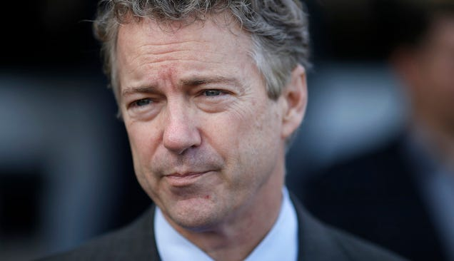 Rand Paul Also Has an Idiot Opinion About Vaccines