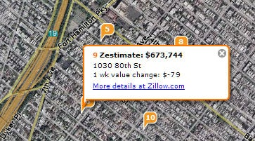 Find your bosses' home value with Zillow and Yahoo!
