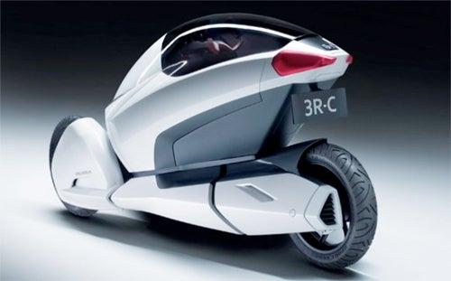 Honda's Eco-Friendly Trike of the Future