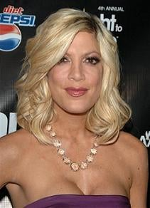 Tori Spelling Takes Advantage of Time Warp To Secure Employment
