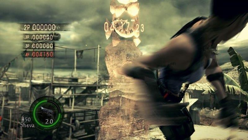 "Capcom Delays ""Versus"" Resident Evil 5 DLC"
