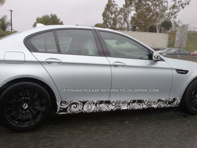 2012 BMW M5: Spy Photos