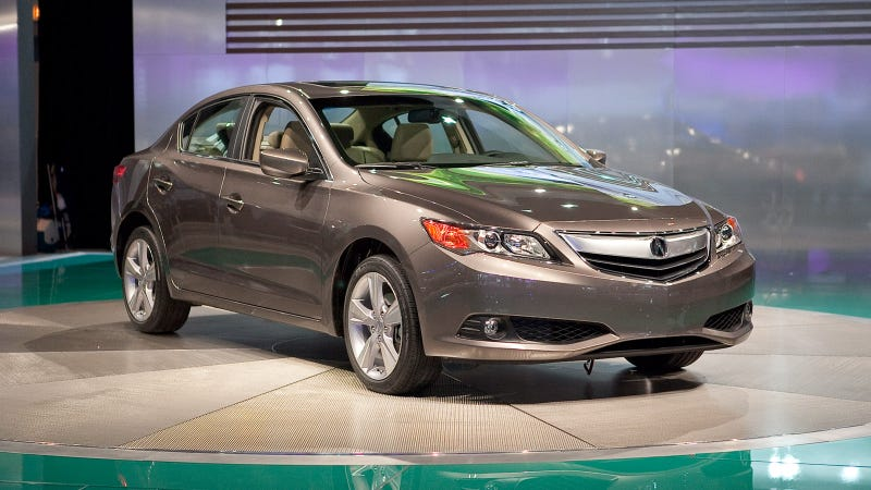 Acura ILX: It's Like A Civic With A Newish Nose