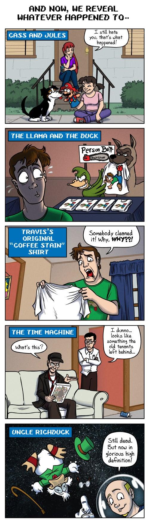Sunday Comics: The Shape of Things