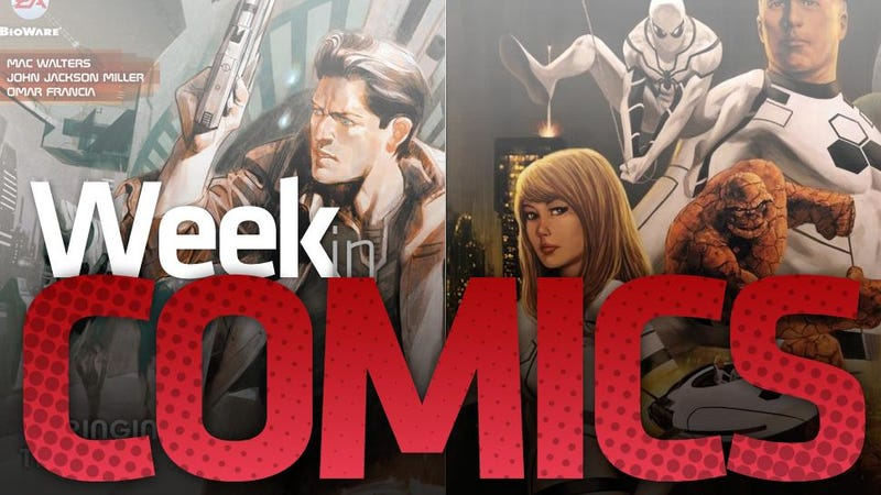 Green Lanterns, The Illusive Man And The Best Week Of Comics On The iPad... Ever?