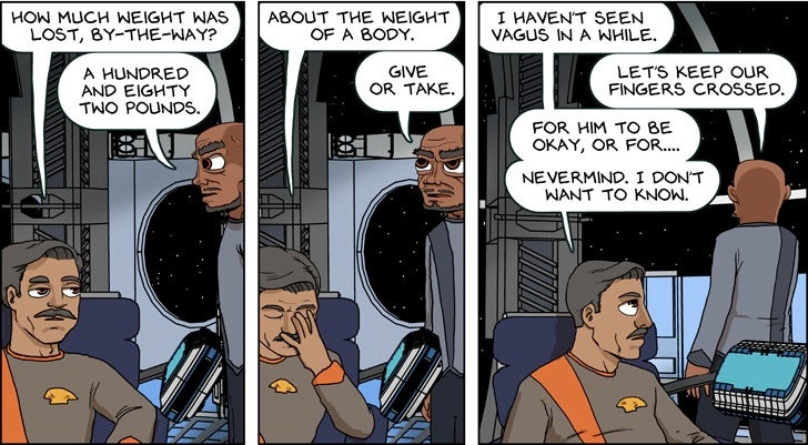 What if the Enterprise was crewed entirely by misanthropic jerks?