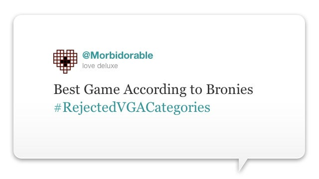If Only There Were Actually Video Game Awards This Funny