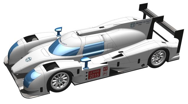 Na, ez az igazi kickstater - autót Le Mansra