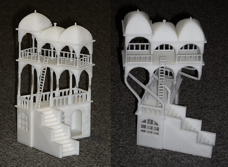 M.C. Escher's Impossible Structures, Printed in 3D