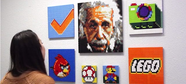 This Website Makes Building Lego Mosaics as Easy as Uploading a Photo