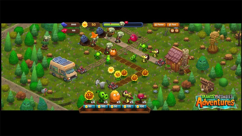 Before Plants Vs. Zombies 2 Comes Plants Vs. Zombies Vs. Facebook