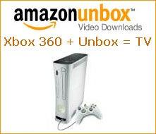 Stream Amazon Unbox Video to your Xbox 360