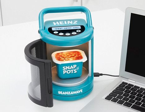 Beanzawave USB-Powered Beans Microwave is What USB Was Created For