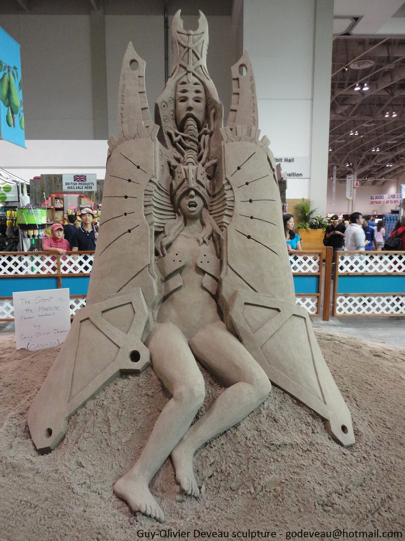 These Sand Sculptures Will Haunt Your Dreams