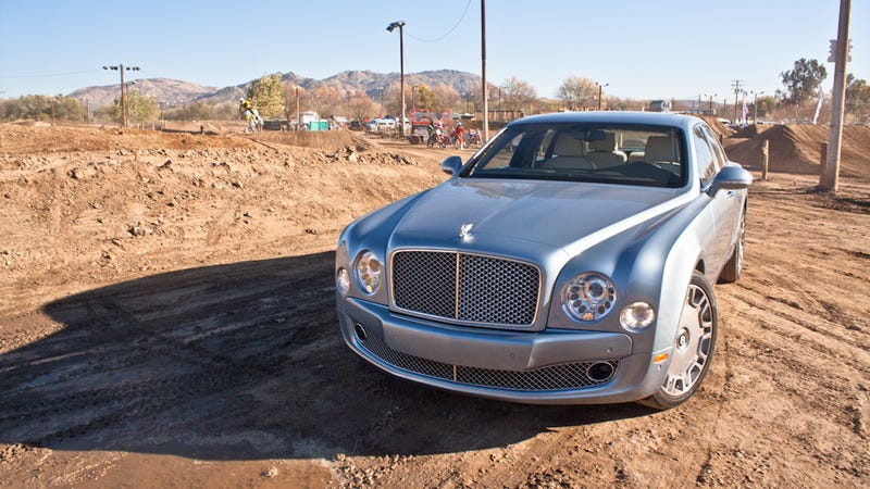 What's it like to drive the Bentley Mulsanne?