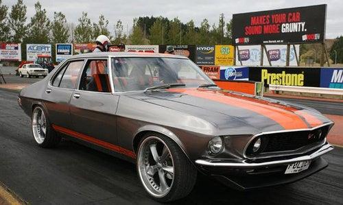The Folden: A 1969 Mustang Holden Sedan