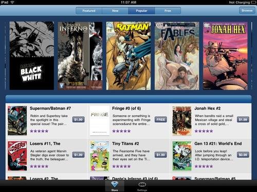DC Comics Finally Goes Digital