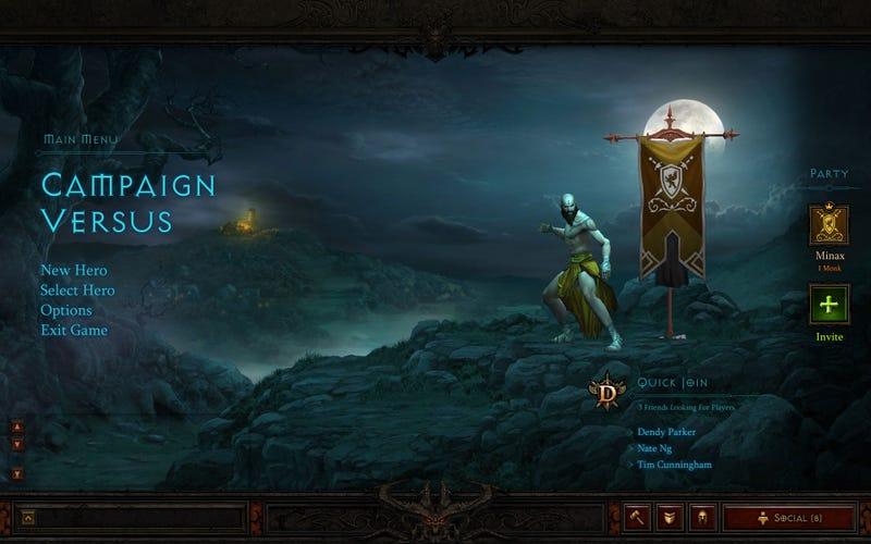 Diablo III Auction House and Battle.net Screenshots