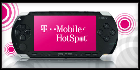 Six Months Free T-Mobile HotSpot With PSP Ownership