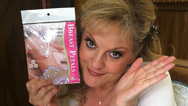 You Did Not See Nancy Grace's Actual Nipple, She Swears