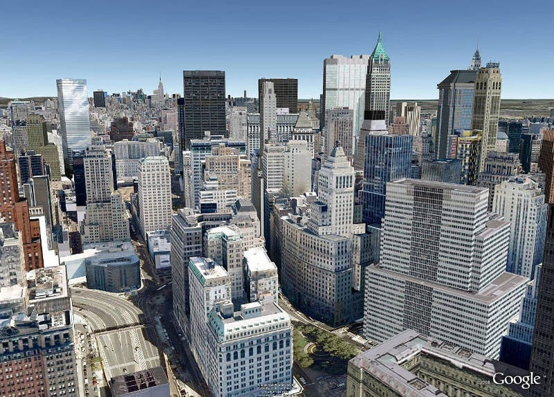 Google Earth Adds Photo-Realistic Buildings to NYC