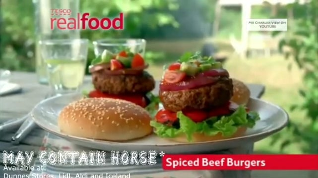 Beef Products Sold in UK, Ireland Found to Contain Horse Meat
