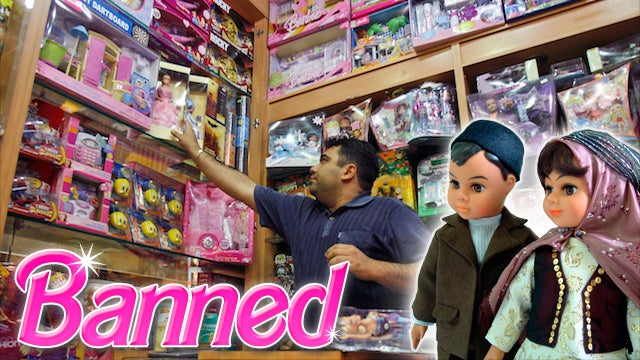 Barbie Goes Black Market in Iran