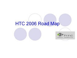 HTC's 2006 Roadmap