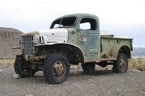 Charles Manson's Forgotten Getaway Truck
