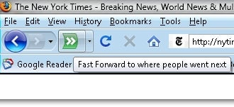 "Fast Foward Adds ""Most Visited Next"" Button to Firefox"